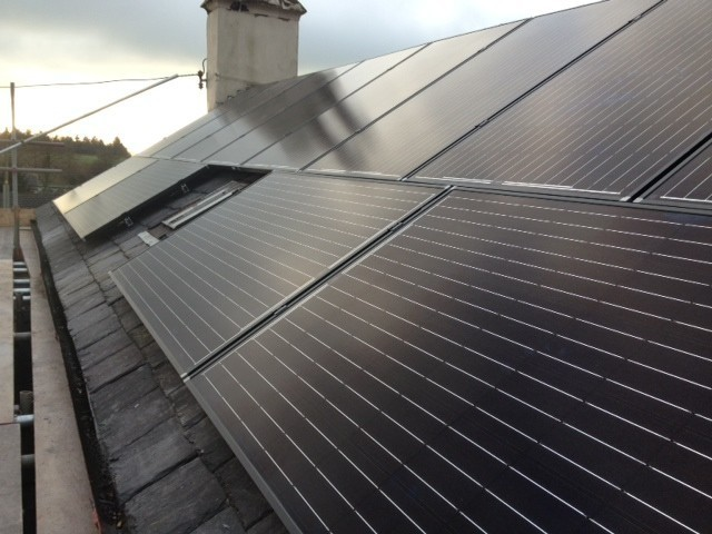 Domestic Solar Panel Installation In Cumbria